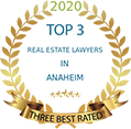 Top 3 Real Estate Lawyers Three Best Rated logo
